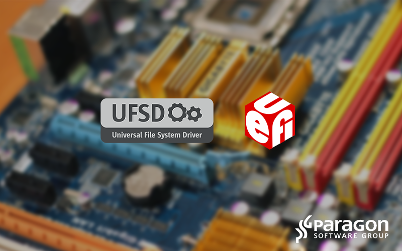 UFSD SDK makes it easier for system management, security software vendors and motherboard manufacturers to expand capabilities in UEFI environments