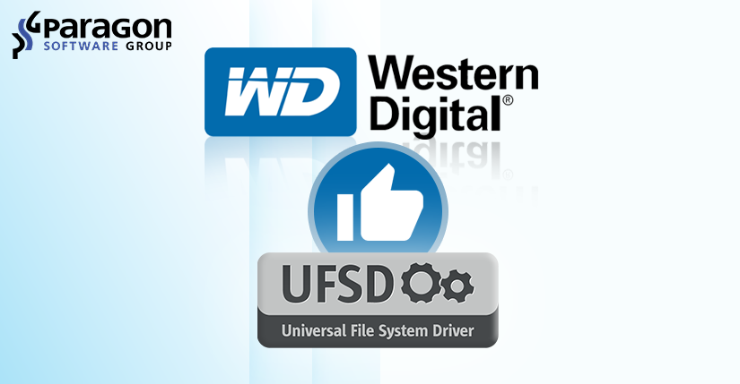 Paragon Software's UFSD technology chosen by Western Digital to drive seamless connectivity for new WD Pro series