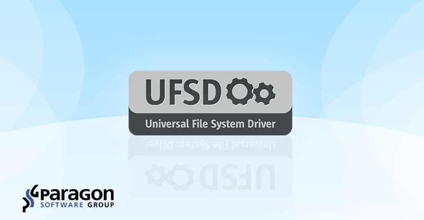 ReFS Support added to Paragon Universal File System Drivers