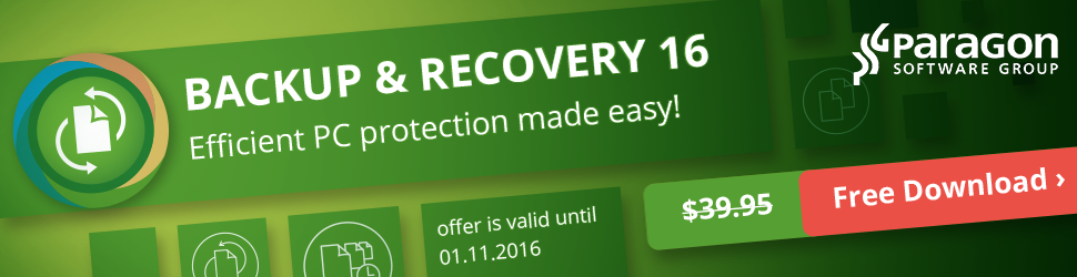 Backup & Recovery 16 - free download!